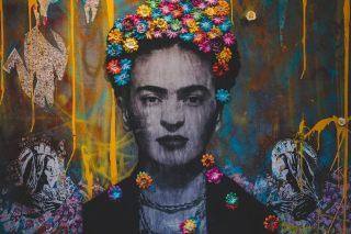 Mural emocional de Frida
